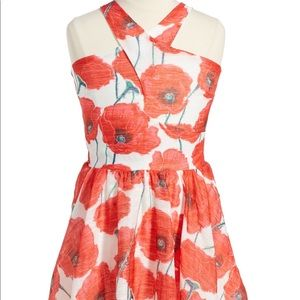 Other - Miss Behave Girls Red Floral Dress